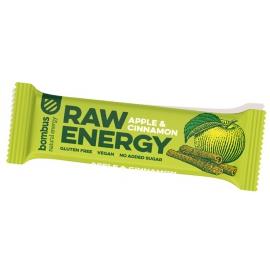 Tyčinka BOMBUS RAW energy jablko-škorica 50g
