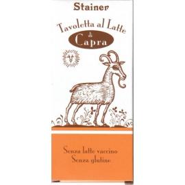 Čokoláda STAINER z kozieho mlieka 50g