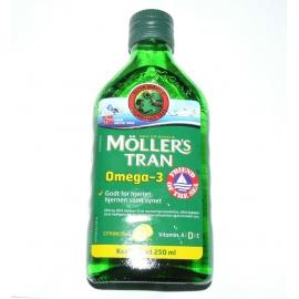 Möller 's - Nórsky rybí tuk s citrónovou príchuťou 250 ml