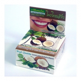 Zubná pasta kokosová 100% Prai Thai Herbs 25g