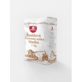 Múka špaldová hladká celozrnná 1kg BIOMILA KONV.