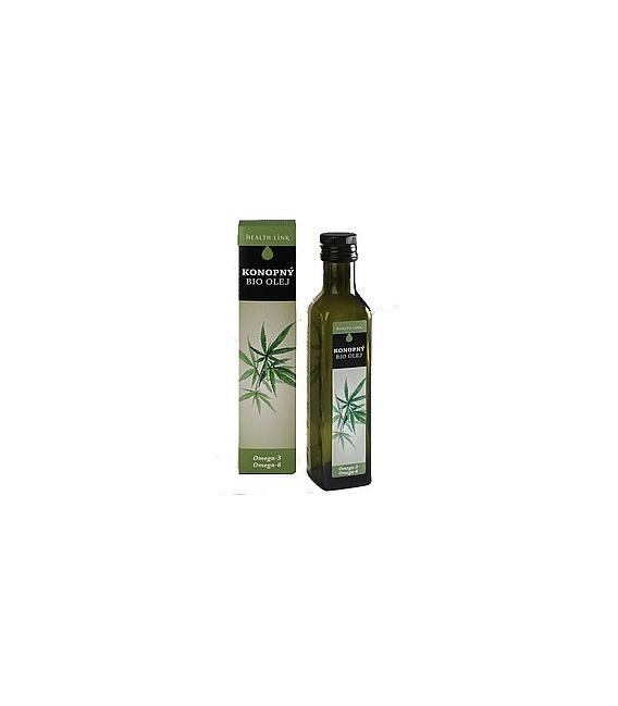 BIO panenský konopný olej 250ml