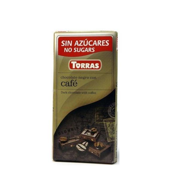 Dia čokoláda horká s kávou 75g TORRAS