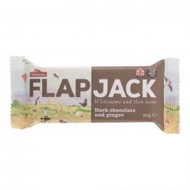 Flapjack ovsený čokoláda so zázvorom 80g WHOLEBAKE