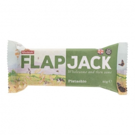 Flapjack ovsený pistácie 80g WHOLEBAKE