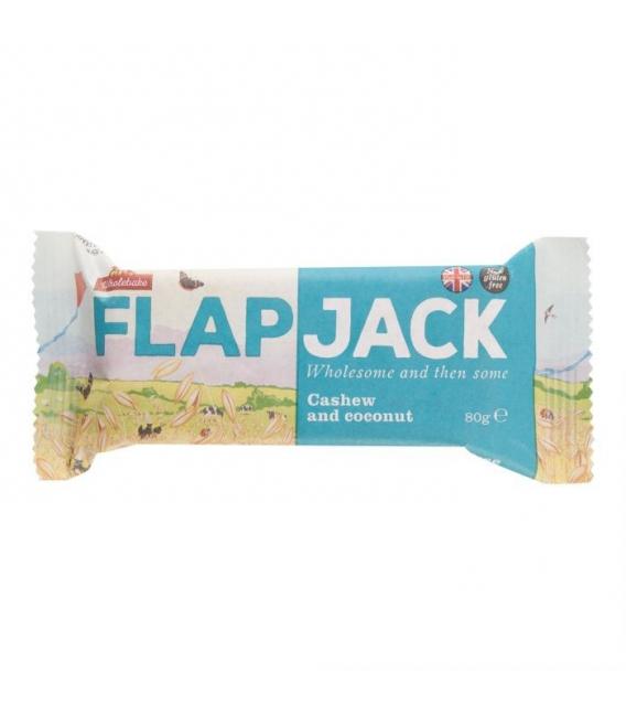 Flapjack ovsený kešu-kokos 80g WHOLEBAKE