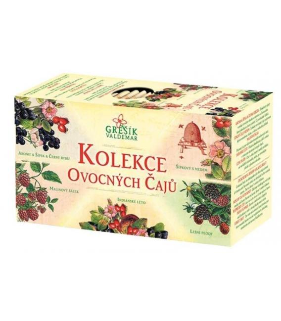 Kolekcia ovocných čajov 5x4 n.s. Grešík