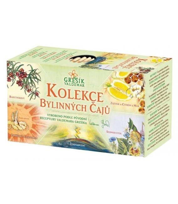 Kolekcia bylinných čajov 5x4 n.s. Grešík