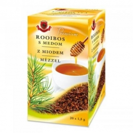 Čaj Rooibos s medom 20x1,5g  Herbex