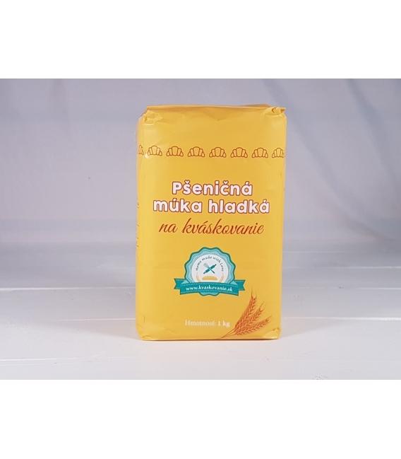 Múka pšeničná hladká na kváskovanie 1 kg ŽLTÁ
