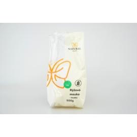 Múka ryžová hladká 500g Natural Jihlava