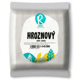 Cukor hroznový-glukóza 200g Ravita