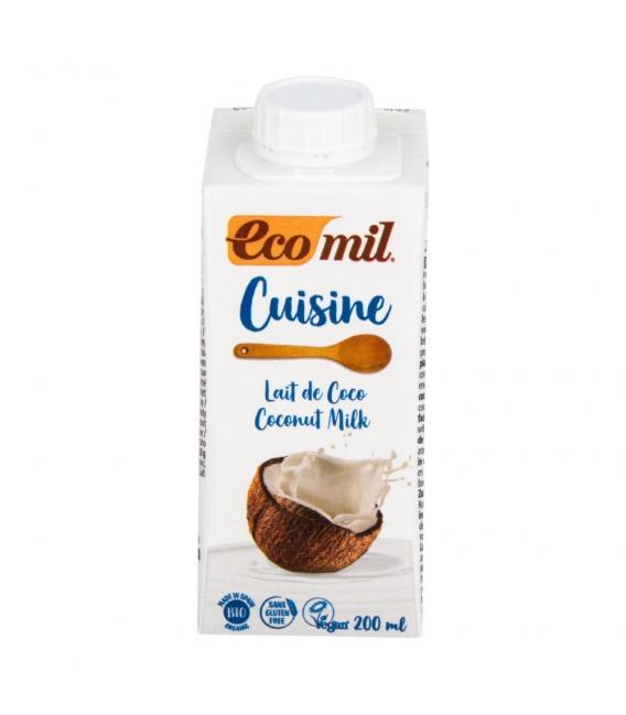 Kulinárska špecialita z kokos.mlieka 200ml BIO ECOMIL