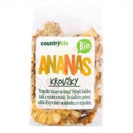 Ananás sušený krúžky 100g BIO Country Life