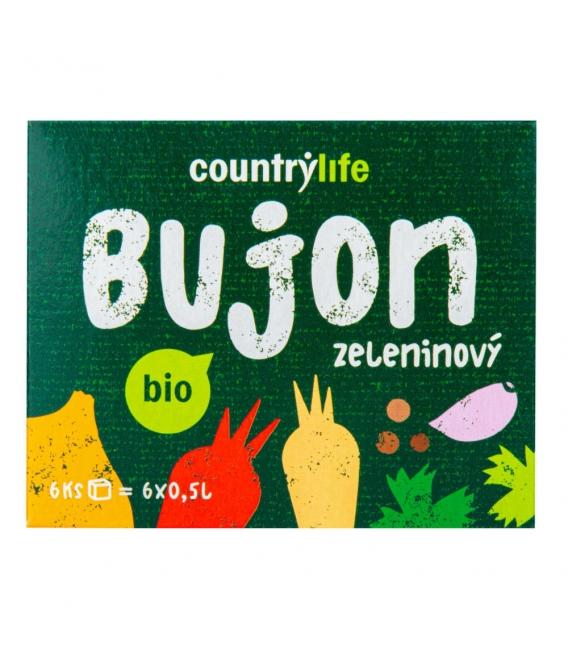 Bujón zeleninový Würzl kocky 66g BIO CL