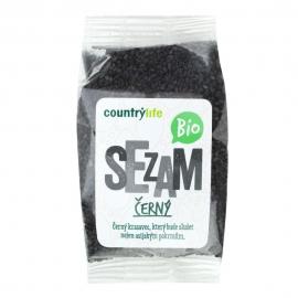 Sezam čierny nelúpaný 100g BIO Country Life