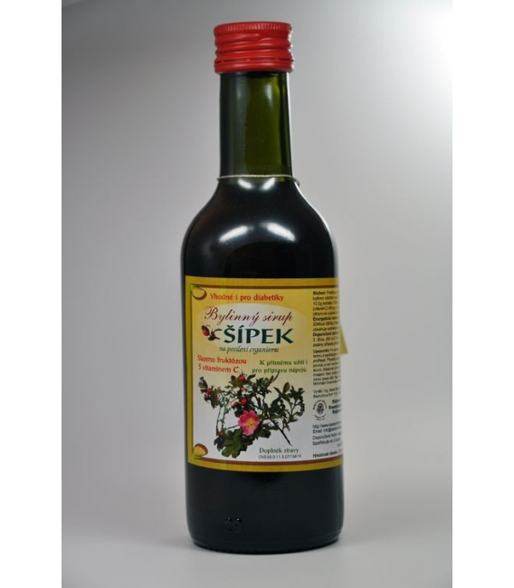 Sirup ŠÍPKA 250ml,