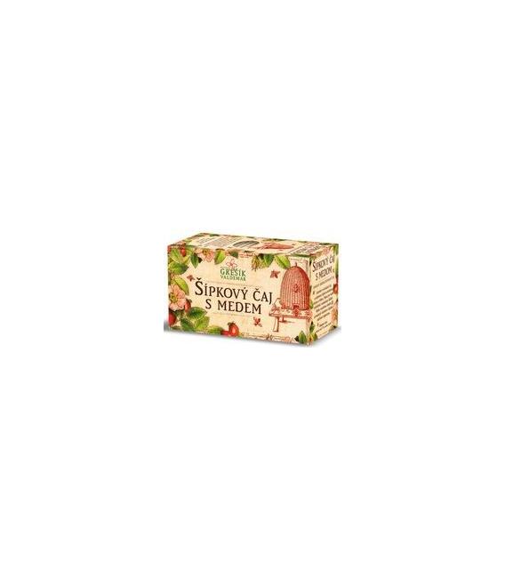 Šípkový čaj s medom, 20x3 g