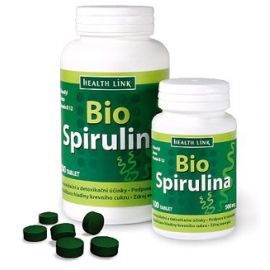 Spirulina s B 12 500mg /300tabliet/BIO Health Link