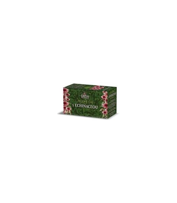 Zelený čaj s echinaceou, 20 x 1,5g
