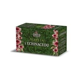 Čaj zelený s echinaceou 20 n.s. Grešík