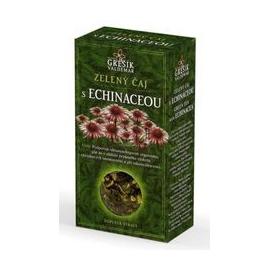 Čaj zelený s echinaceou 70g krab. Grešík