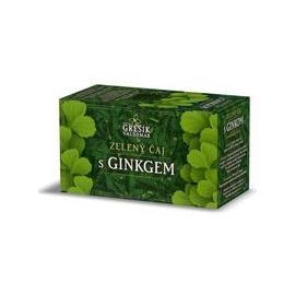 Čaj Zelený s GINKGOM 20 nalev.sáčkov Grešík
