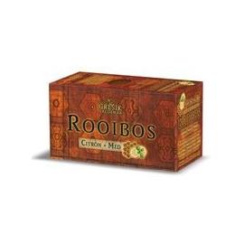 Rooibos citrón + med, 20 x 1,5g Grešík