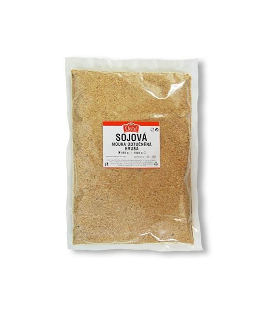 Múka sójová hrubá, 350g Natural