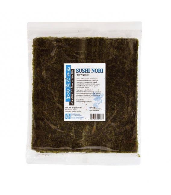 Morské riasy Sushi Nori, 25 g
